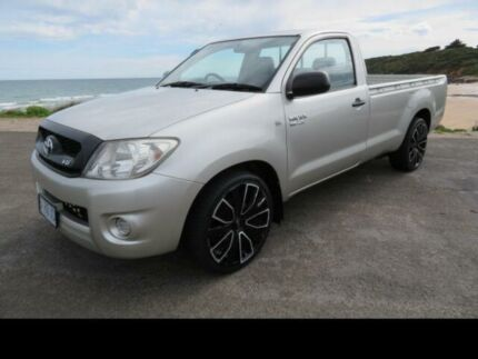 2010 Toyota Hilux GGN15R 09 Upgrade SR Silver 5 Speed Manual Pickup