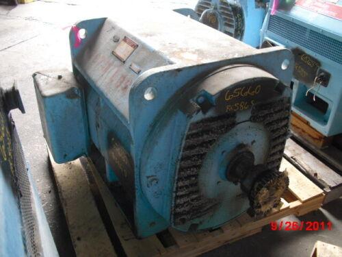 400 HP General Electric Canada AC Electric Motor 1200 RPM Fr 586S DPBB 2300 V