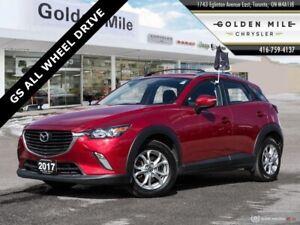 2017 Mazda CX-3 GS ALL WHEEL DRIVE NAVIGATION