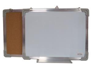 3-in-1 Whiteboard, Corkboard, Magnetic