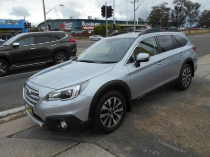 2016 Subaru Outback B6A MY16 2.5i CVT AWD Premium Silver 6 Speed Constant Variable Wagon Fyshwick South Canberra Preview