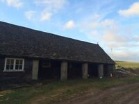 Up to 4 stables and grazing to rent near Hatherop.