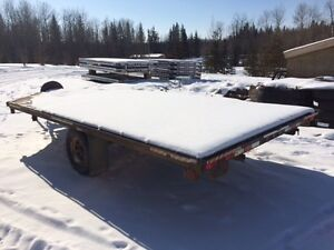 used trailtech 3 place sled/4 place quad trailer