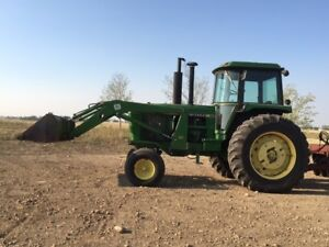 John Deere 4440 for sale with loader