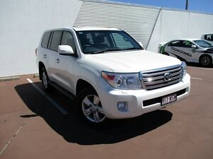 2015 Toyota Landcruiser VDJ200R MY13 VX White 6 Speed Sports Automatic Wagon Toowoomba Toowoomba City Preview