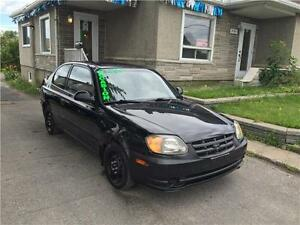 HYUNDAI ACCENT 2004 AUTOMATIQUE 124,775 KM CIVIC WAVE