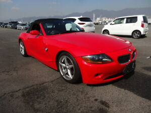 2004 Z4 BMW  Low Mileage Rare (Right-hand Drive)