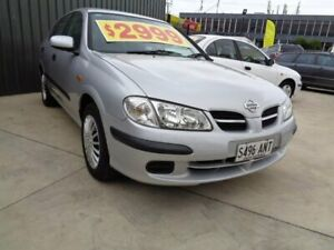 2001 Nissan Pulsar N16 ST Silver 5 Speed Manual Hatchback Enfield Port Adelaide Area Preview