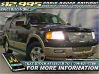 2006 Ford Expedition Eddie Bauer Leather | Sunroof | DVD