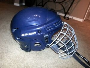 Bauer Helmet with Face Cage Size Small