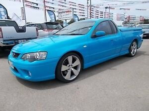 2006 Ford Falcon BF MkII XR6T Blue 6 Speed Auto Seq Sportshift Utility Gepps Cross Port Adelaide Area Preview