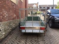 Trailer 8ft x 4ft with ramp