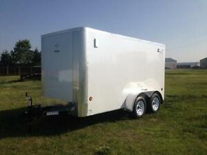 6X12 TANDEM AXLE ENCLOSED ROYAL LT CARGO *7799#GVWR*TAX IN $4886
