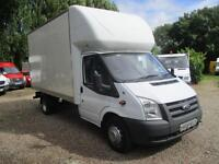 Ford Transit 2.4TDCi LUTON VAN ( 115PS ) 350 LWB 2011 REG 1 OWNER NO VAT