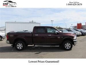 2012 Ram 2500 2500 Laramie Diesel Crew Cab w/ FULLY LEATHER, BAC