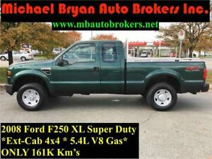 2008 FORD F250 XL SUPER-CAB *4X4* SHORT BOX *5.4L V8*GREAT PRICE