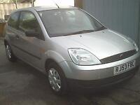 Ford Fiesta 1.25 LX 3 Door 2003 53 reg