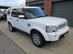 2012 Land Rover Discovery 4 MY12 2.7 TDV6 White 6 Speed Automatic Wagon Gilles Plains Port Adelaide Area Preview