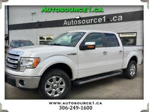 2014 Ford F-150 Lariat SuperCrew 4WD | PST PAID! | NAV | LEATHER