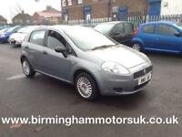 2006 (06 Reg) Fiat Grande Punto 1.2 Active 5DR Hatchback GREY + LOW MILES