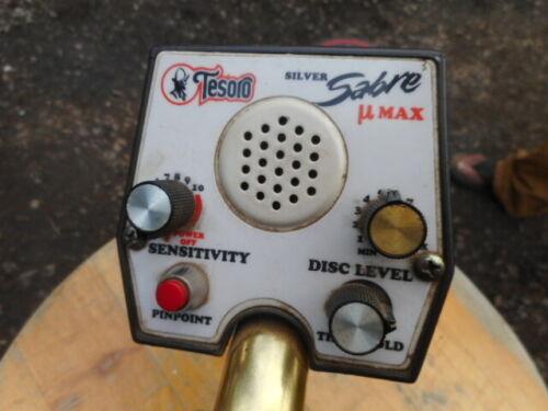 Tesoro Silver Umax metal detector for repair