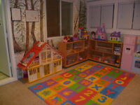 Rare full time infant/toddler childcare space available