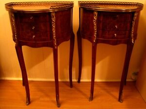 antique marquetry vers 1920 style louis xv