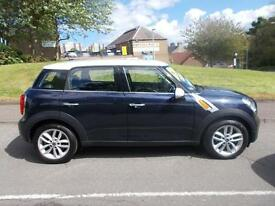 MINI COUNTRYMAN COOPER D, Blue, Manual, Diesel, 2010 (blue) 2010
