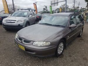 2000 Holden Commodore VT II Acclaim Grey 4 Speed Automatic Wagon