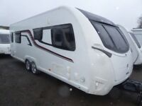 Swift Elegance 645 twin axle,4 berth ,side island bed,Full History,Alde.