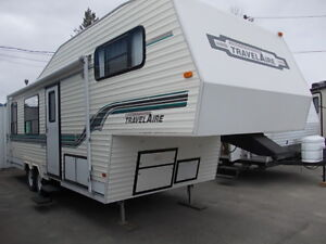 1996 TRAVELAIR 5TH WHEEL