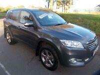 TOYOTA RAV4 2.0 XT-R VALVEMATIC 5d AUTO 158 BHP (grey) 2012
