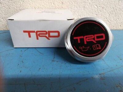 Genuine Toyota TRD Oil Filler Cap