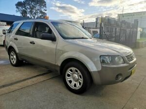 2008 Ford Territory SY MY07 Upgrade TX (RWD) Silver 4 Speed Auto Seq Sportshift Wagon Lidcombe Auburn Area Preview
