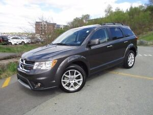 2016 Dodge JOURNEY R/T AWD 7-PASS (DVD PLAYER, MOONROOF, LEATHER