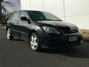 2005 Toyota Corolla ZZE122R 5Y Ascent 5 Speed Manual Hatchback