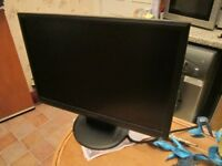COMPUTER MONITOR, 21.5 INCH HANNS G WIDESCREEN GREAT CONDITION