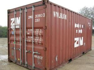 20' and 40' used & new storage & shipping containers for sale