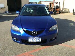 2008 Mazda 3 BK MY06 Upgrade Neo Blue 4 Speed Auto Activematic Sedan Erskine Mandurah Area Preview
