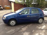 FIAT PUNTO 1.2 - COMES WITH FULL NEW M.O.T - DRIVES SUPERB!