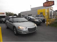 2005 Chrysler Sebring Limited convertible **$3495--154,000 km**