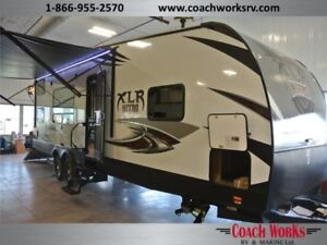THIS JUST IN! Brand new XLR 28KW toyhauler. Call me 2day!