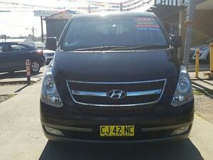 2014 Hyundai iMAX TQ MY13 Black 4 Speed Automatic Wagon Five Dock Canada Bay Area Preview