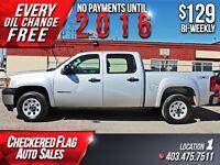 2011 GMC Sierra 1500 Crew W/ 4X4-Factory Tow-Alloys $129/BW!