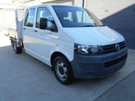2009 Volkswagen Transporter White Automatic Dual Cab Preston Darebin Area Preview