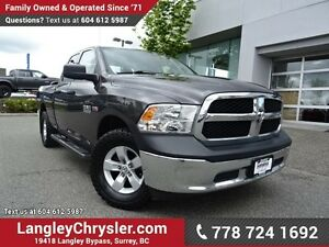 2015 RAM 1500 ST ACCIDENT FREE w/ 4X4, POWER WINDOWS/LOCKS &...