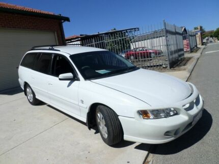 2004 Holden Commodore VY II Acclaim White 4 Speed Automatic Wagon Mount Lawley Stirling Area Preview