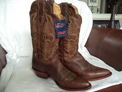 Justin L2684 Tan Distressed Vintage Goat Boot