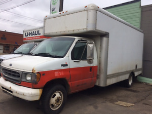 2000 Ford F-350 ex Uhaul Truck for sale!