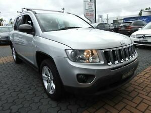 2012 Jeep Compass MK MY12 Sport (4x4) Silver Continuous Variable Wagon Croydon Burwood Area Preview